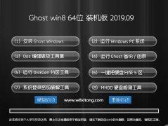 电脑店 ghost win8.1 64位专业优化版v2019.09